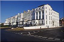 TQ3303 : Arundel Terrace & House, Kemp Town by Ian Taylor