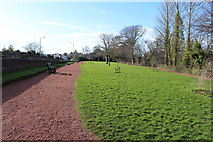 NS3421 : Park next to the River Ayr by Billy McCrorie