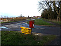 TM3388 : B1062 Flixton Road & Woodland Drive Postbox by Adrian Cable