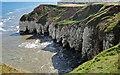 TA2272 : North Cliff views, Headland Way by Scott Robinson