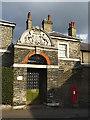 TQ3975 : Gateway to Merchant Taylors Almshouses by Stephen Craven