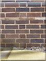 SP1786 : OS benchmark - Chelmsley Wood Elec substation by Richard Law