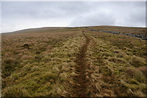 SD6782 : Path to Crag Hill by Bill Boaden