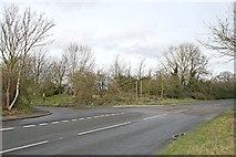 TQ1557 : Randalls Road, recycling depot turning by Hugh Craddock