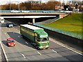 SD8004 : HGV on the M60 at Whitefield by David Dixon