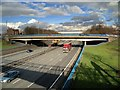 SD8004 : A56 Bridge, Junction 17 of the M60 (Whitefield) by David Dixon