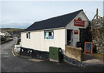 SH1726 : Becws Islyn Bakery, Aberdaron by Dave Croker