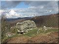 SK2577 : Rock above The Haywood by Trevor Littlewood