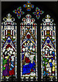 TL5480 : Stained glass window, Ely Cathedral by Julian P Guffogg