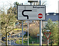 J3770 : Gyratory, Ballygowan Road near Belfast (7) by Albert Bridge
