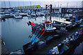 TQ3402 : Fishing boat, Brighton Marina by Ian Taylor
