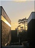 SX9065 : Between two buildings, Torre by Derek Harper