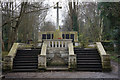 TQ3386 : The War Memorial,  Abney Park Cemetery by Ian S