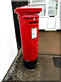 TG2301 : Stoke Holy Cross Post Office George VI Postbox by Adrian Cable