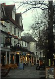 TQ5838 : The Pantiles, Tunbridge Wells by Ed of the South