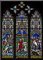 TL5480 : Hezekiah stained glass window, Ely Cathedral by Julian P Guffogg