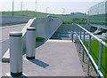 TQ6174 : Ebbsfleet International  station, footbridge by Ben Brooksbank