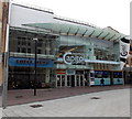 ST1876 : Welcome to Capitol Shopping, Cardiff by Jaggery