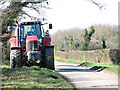 TM1396 : Parked on the verge of Common Road, Fundenhall by Evelyn Simak