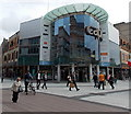 ST1876 : Western entrance to the Capitol shopping centre in Cardiff by Jaggery