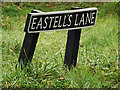 TM2399 : Eastell's Lane sign by Adrian Cable