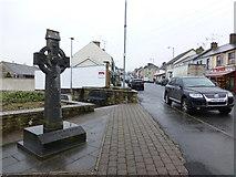 H6357 : Irish cross, Ballygawley by Kenneth  Allen