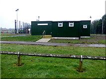 H6257 : Sports pavilion, Ballygawley by Kenneth  Allen