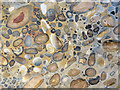 TL3212 : Polished Section of Hertfordshire Puddingstone, Hertford Museum by Chris Reynolds