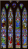 SK9136 : West Window, St Wulfram's church, Grantham by Julian P Guffogg