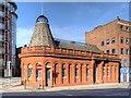 SJ8398 : Chapel Street Police Station by David Dixon