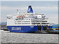 NZ3566 : DFDS ship at the Port of Tyne by William Starkey