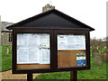 TM2499 : St.Mary's Church Notice Board by Adrian Cable