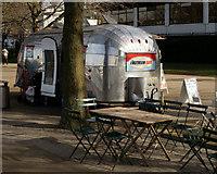 TQ3180 : Airstream Café, London by Peter Trimming