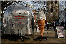 TQ3180 : The Biggest Ice Cream in London by Peter Trimming