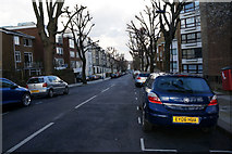 TQ2784 : Ainger Road off Primrose Hill Road by Ian S