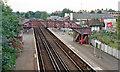 TQ4273 : Mottingham station, 1991 by Ben Brooksbank