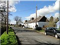 TL2362 : Cottages in Toseland High Street by Adrian S Pye