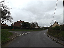 TM2598 : Brooke Road, Shotesham by Adrian Cable