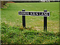 TG2900 : Lower Kiln Lane sign by Adrian Cable