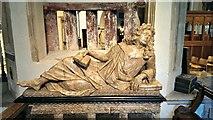 SP0202 : Thomas Master memorial, St John the Baptist Church, Cirencester by Brian Robert Marshall