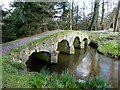 TF9336 : The Packhorse Bridge, Walsingham Abbey by pam fray