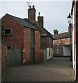 SK8508 : Oakham: a bend in Dean's Street by John Sutton