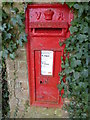 TG1222 : Victorian post box next to Booton church by pam fray