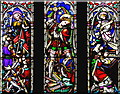 NZ2463 : Northumberland fusilier window, Newcastle Cathedral by William Starkey