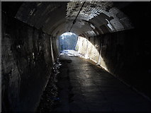 TQ2696 : Subway under the East Coast main railway line, New Barnet by Paul Bryan