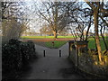 TQ2696 : Victoria Recreation Ground, New Barnet by Paul Bryan