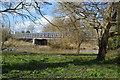 SK2118 : Temporary bridge over River Trent by John M