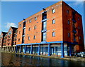 ST1975 : Buildings at the northern edge of Atlantic Wharf, Cardiff by Jaggery