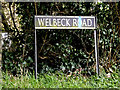 TM3099 : Wellbeck Road sign by Adrian Cable