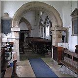 SK8707 : Egleton: St Edmund - chancel, arch and nave by John Sutton